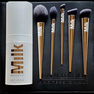 Sephora & Milk Makeup LE Brush Set
